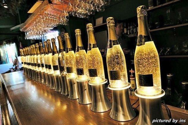Bar à Champagne Le French Kiss Lyon